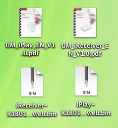 Airplay Receiver iReceiver iPlay Firmware Upgrade und Manual Bedienungsanleitung